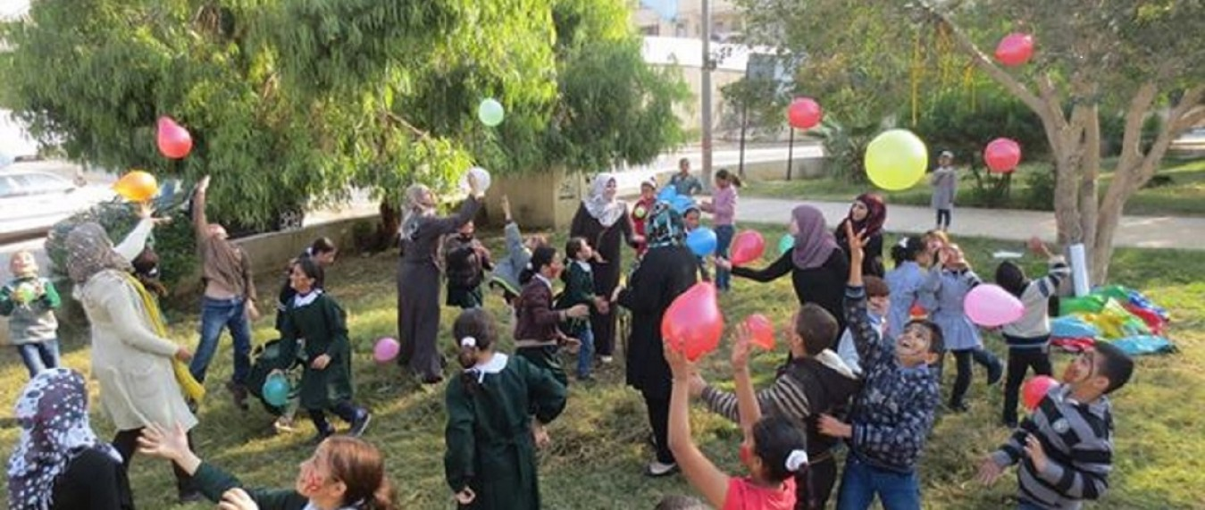 Open day within 'post-school' program funded by International organization Mercy Corps